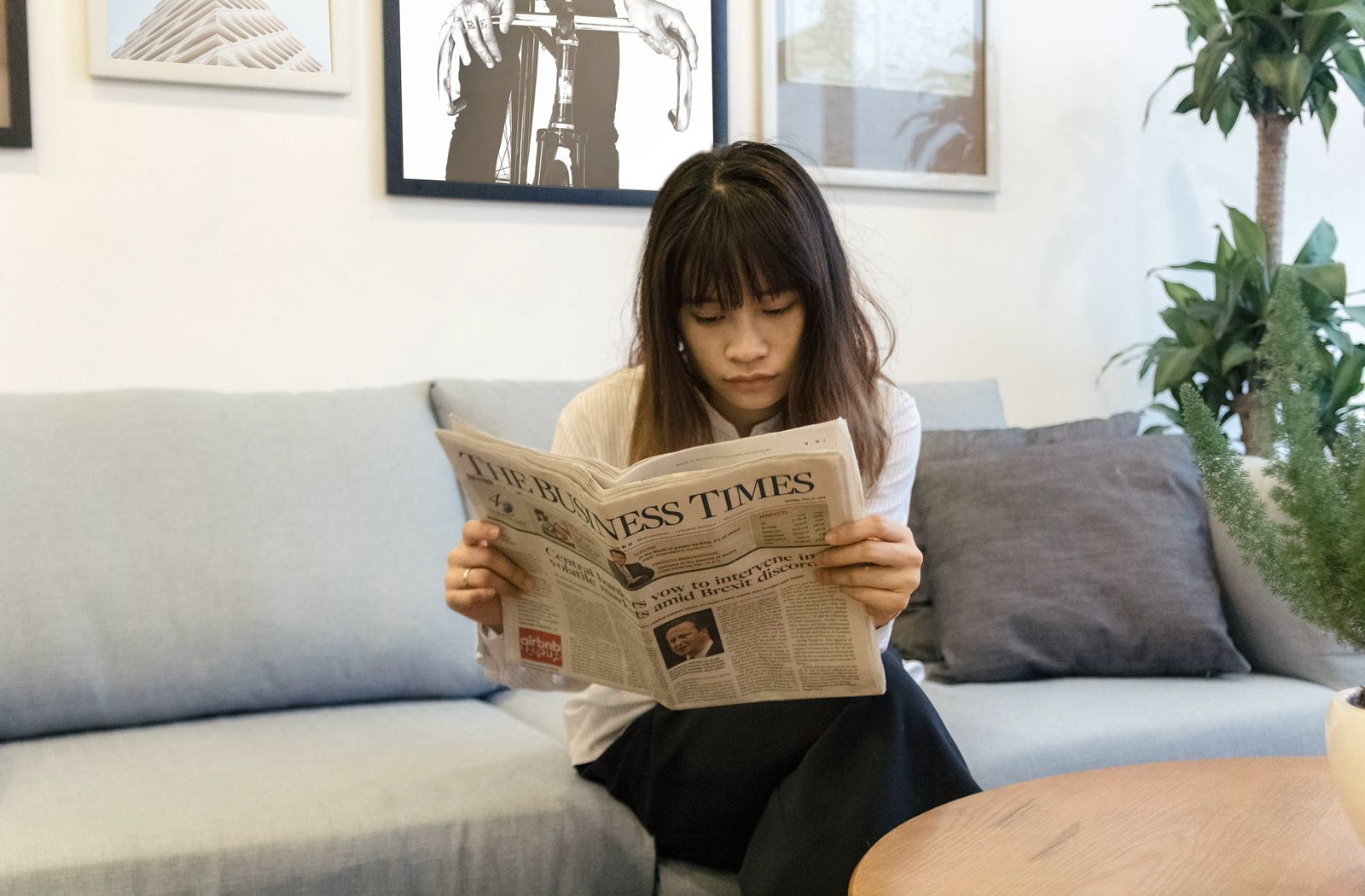 Reading a quality newspaper is good preparation for Section 1