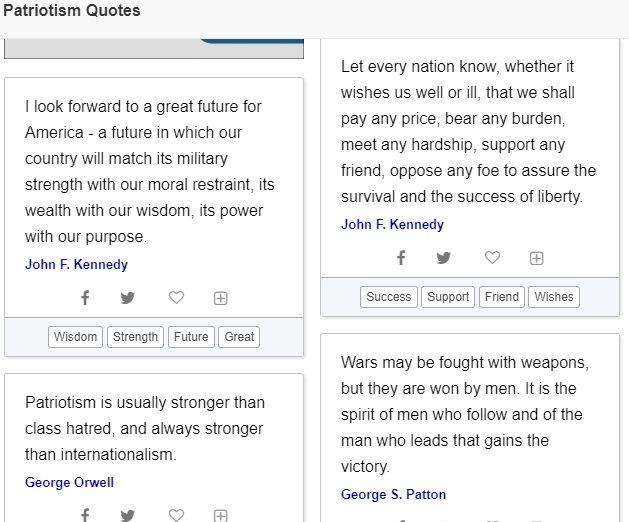 Quote generator patriotism quotes