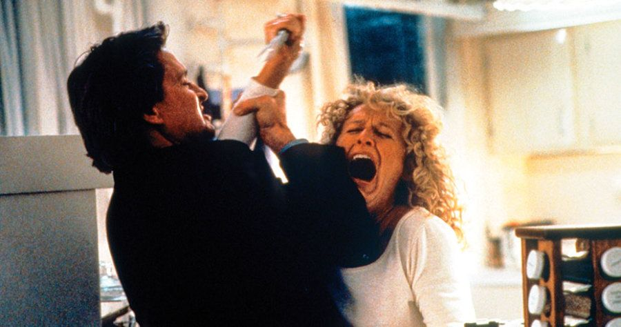 Scene from Fatal Attraction