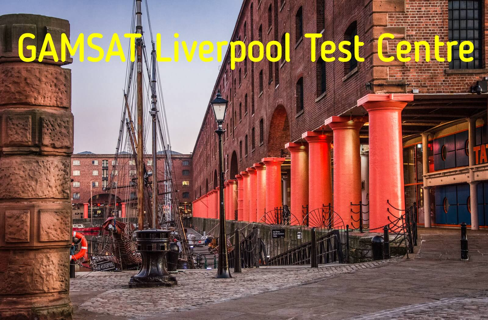 Where is GAMSAT held in Liverpool?