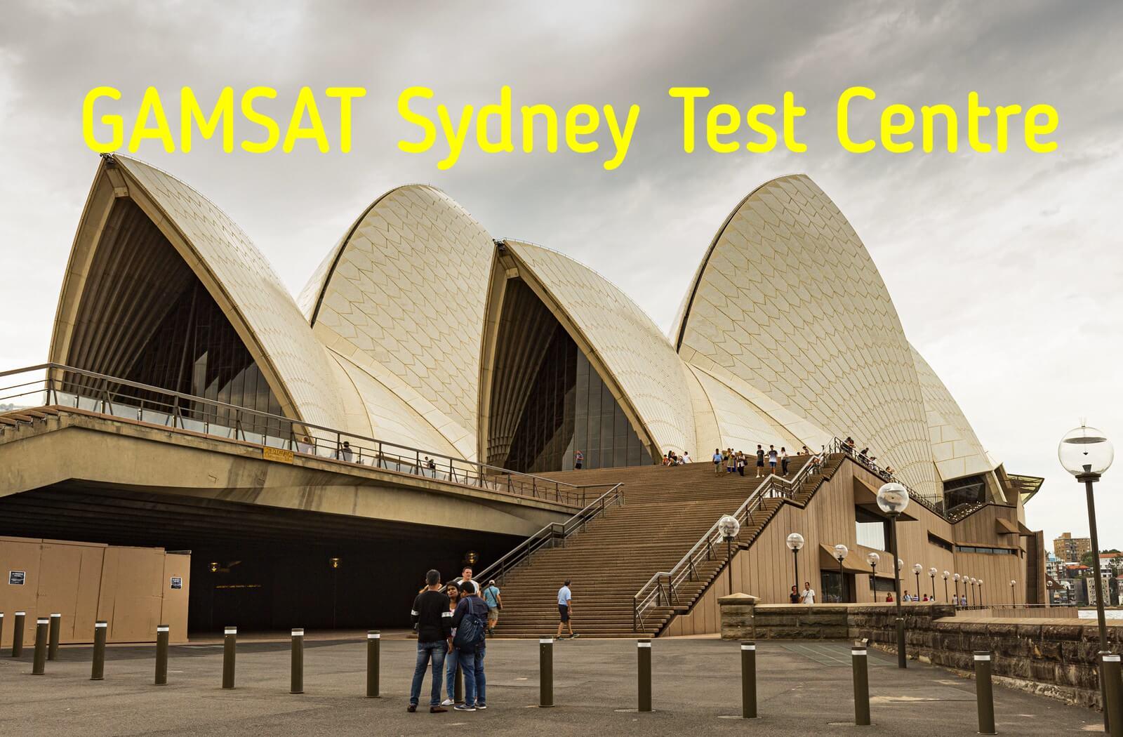 Where is GAMSAT held in Sydney?